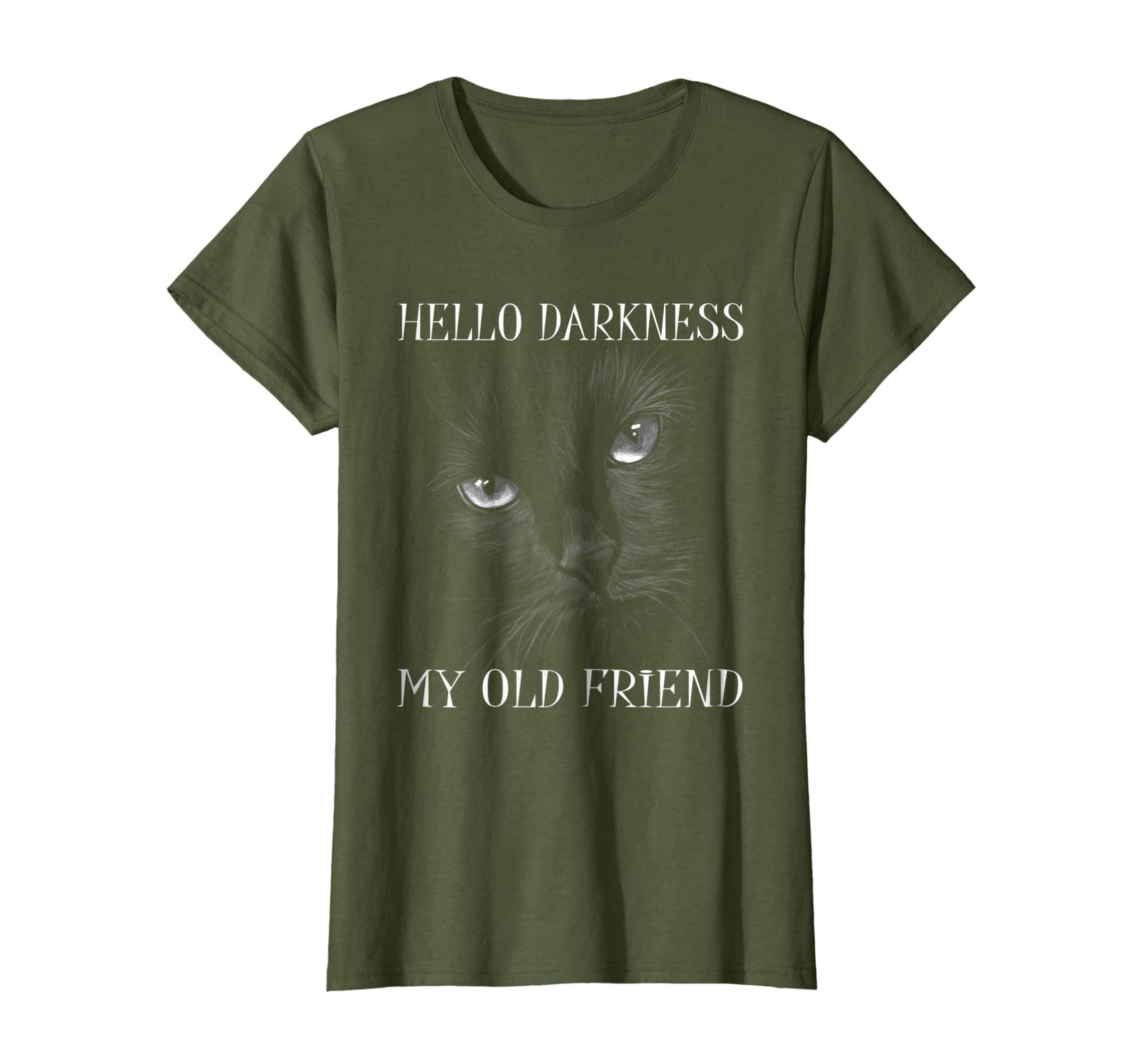 HELLO DARKNESS MY OLD FRIEND T SHIRT