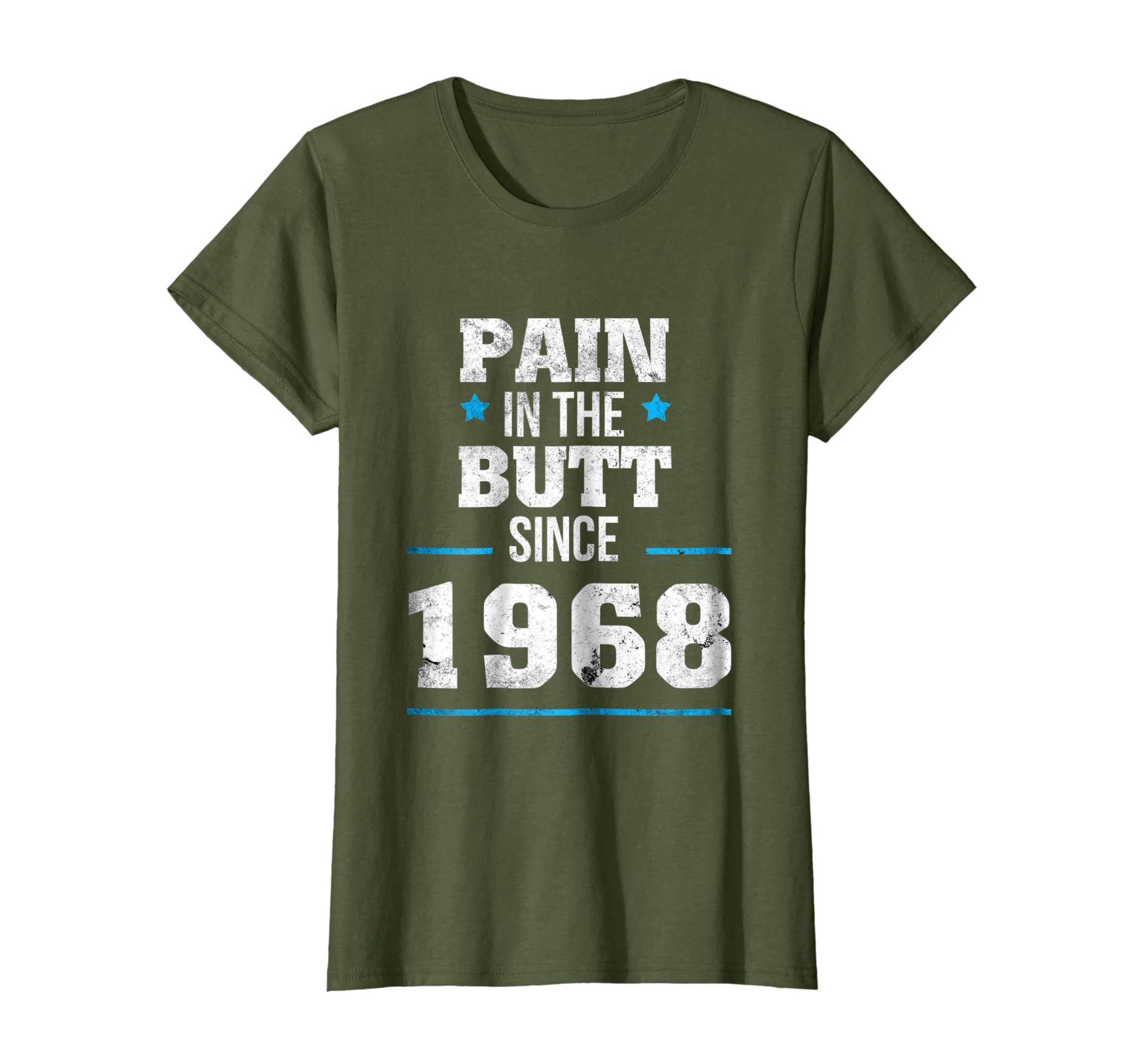 50th Bday Party Shirt   Funny 50th Birthday Gag Gift 1968-Awarplus