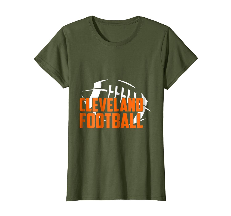 5d5b131372867f Amazon.com: Cleveland Football T-shirt: Clothing