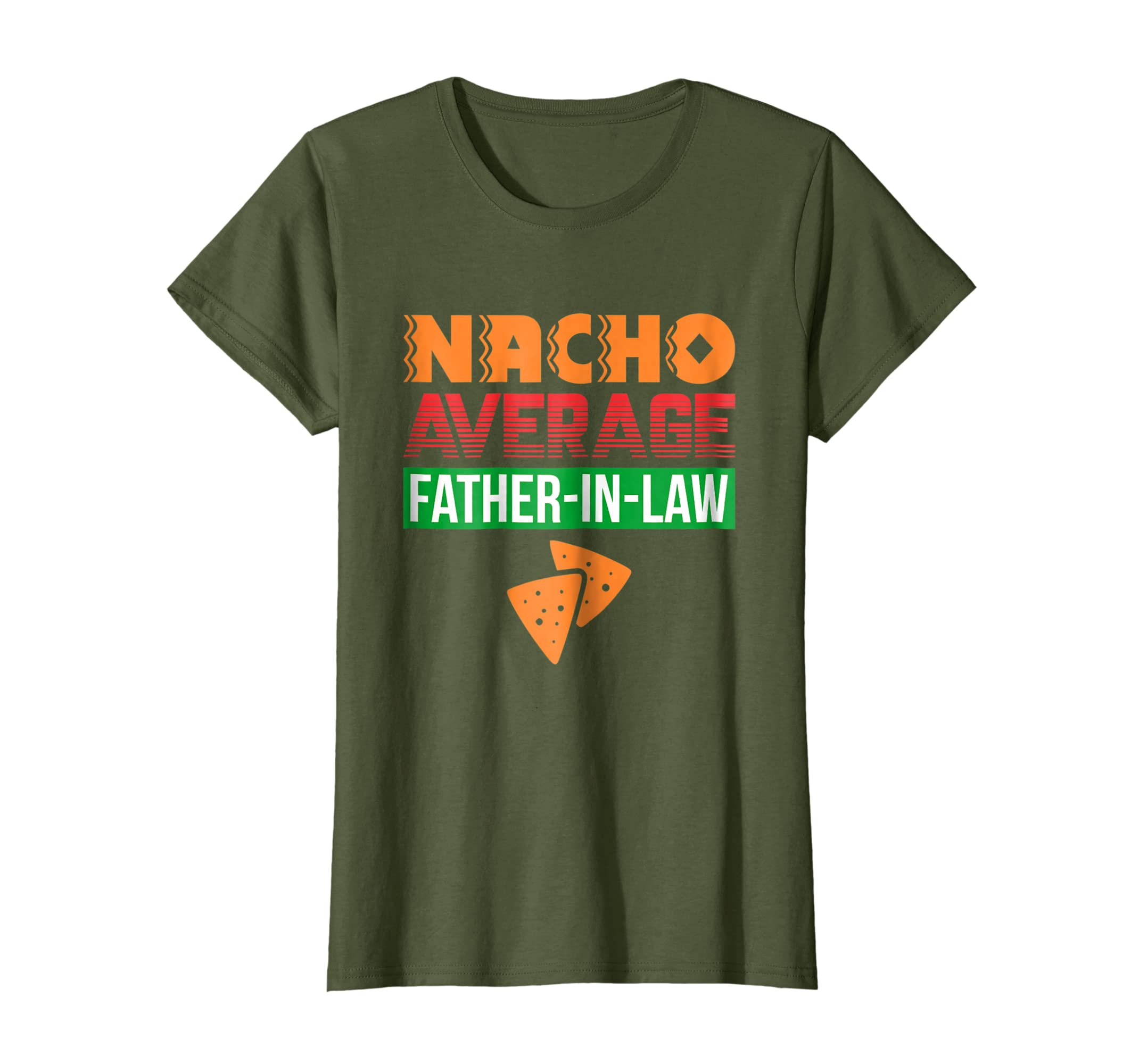 Funny Father in Law Wedding Gift Dad Nacho Fathers Day Shirt-Teehay