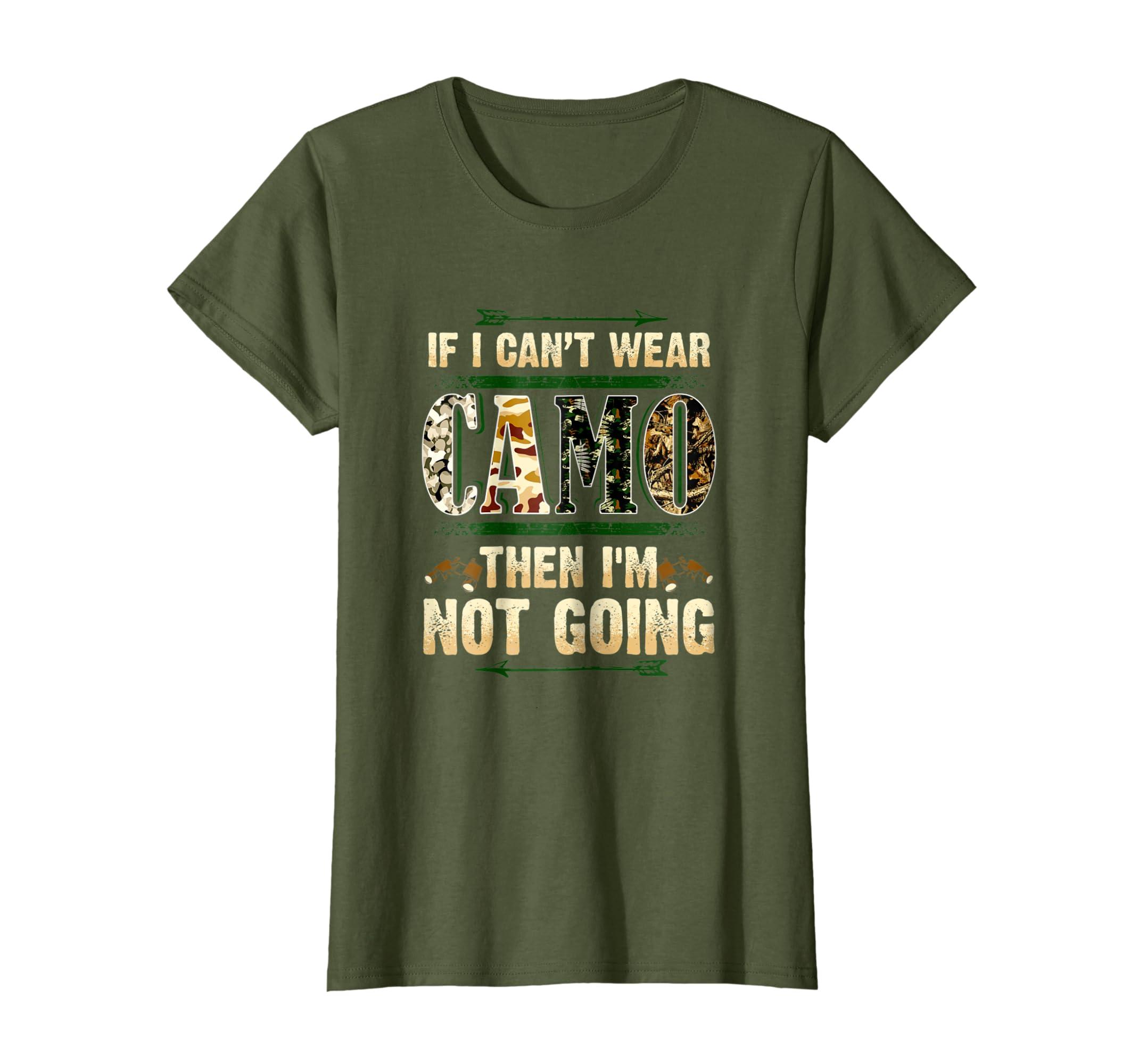 0108e19e Amazon.com: Funny Hunting Shirt Camo T-Shirt For Hunters Buck Deer Tee:  Clothing