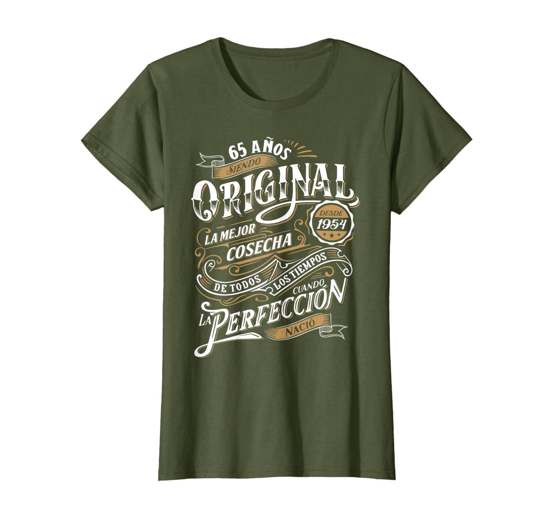 Amazon.com: Camiseta 65 Cumpleanos 1954 Espanol 65th B-Day ...