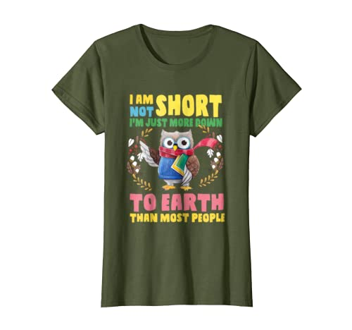 Amazon com: I am not short I'm just more down to earth than