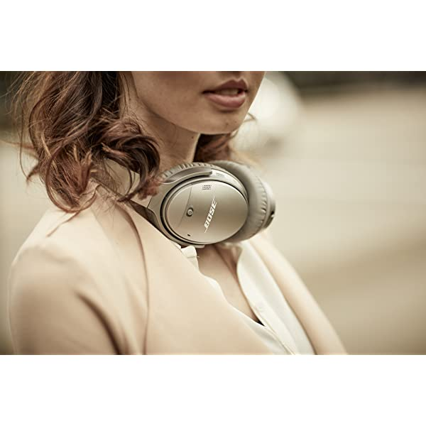 Necklace bose quietcomfort 35 ii wireless bluetooth headphones, noise-cancelling, with alexa voice control – black