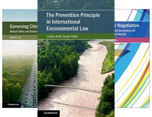Cambridge Studies on Environment, Energy and Natural Resources Governance (9 Book Series)
