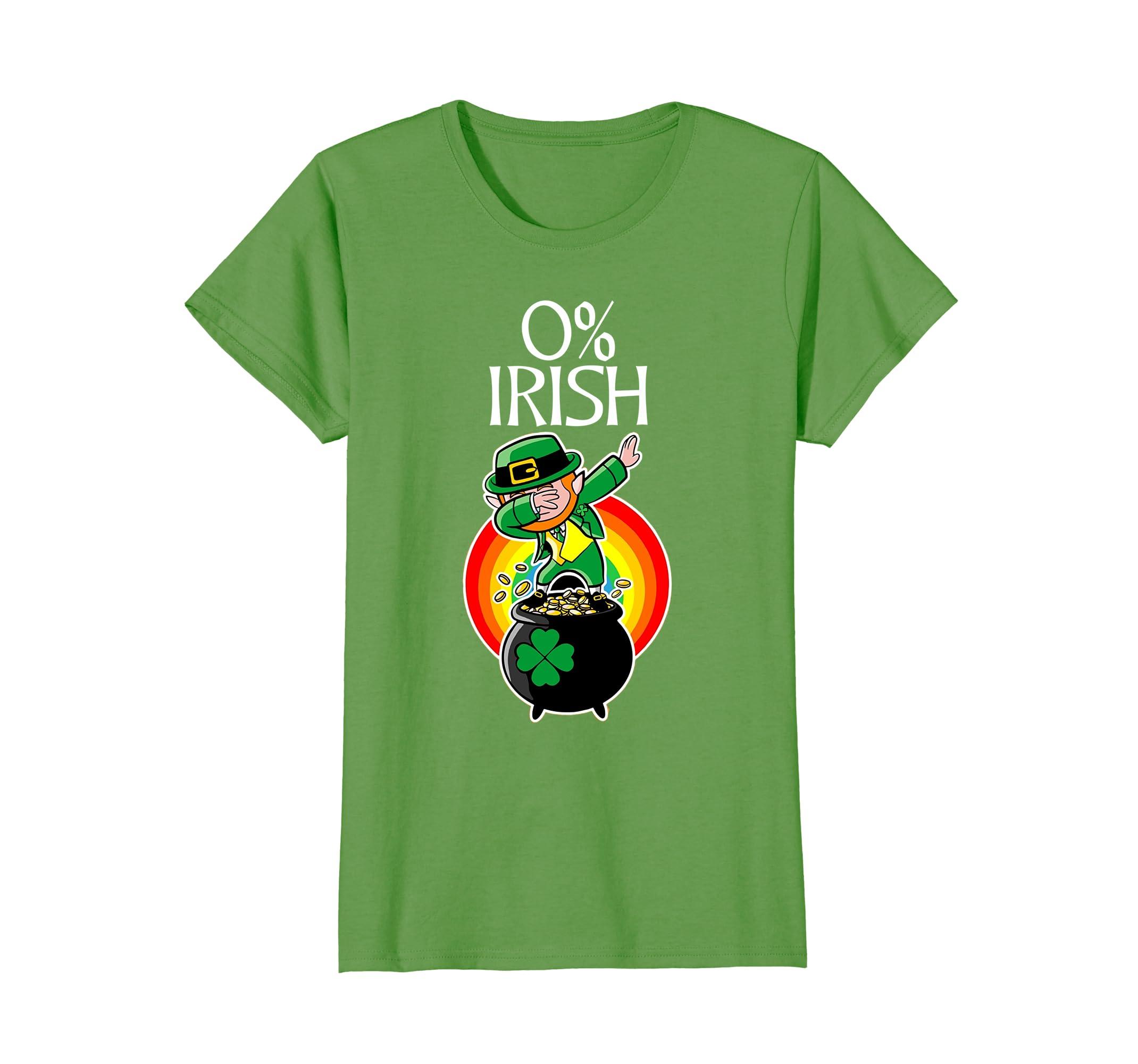 0 Irish T Shirt Funny Patricks