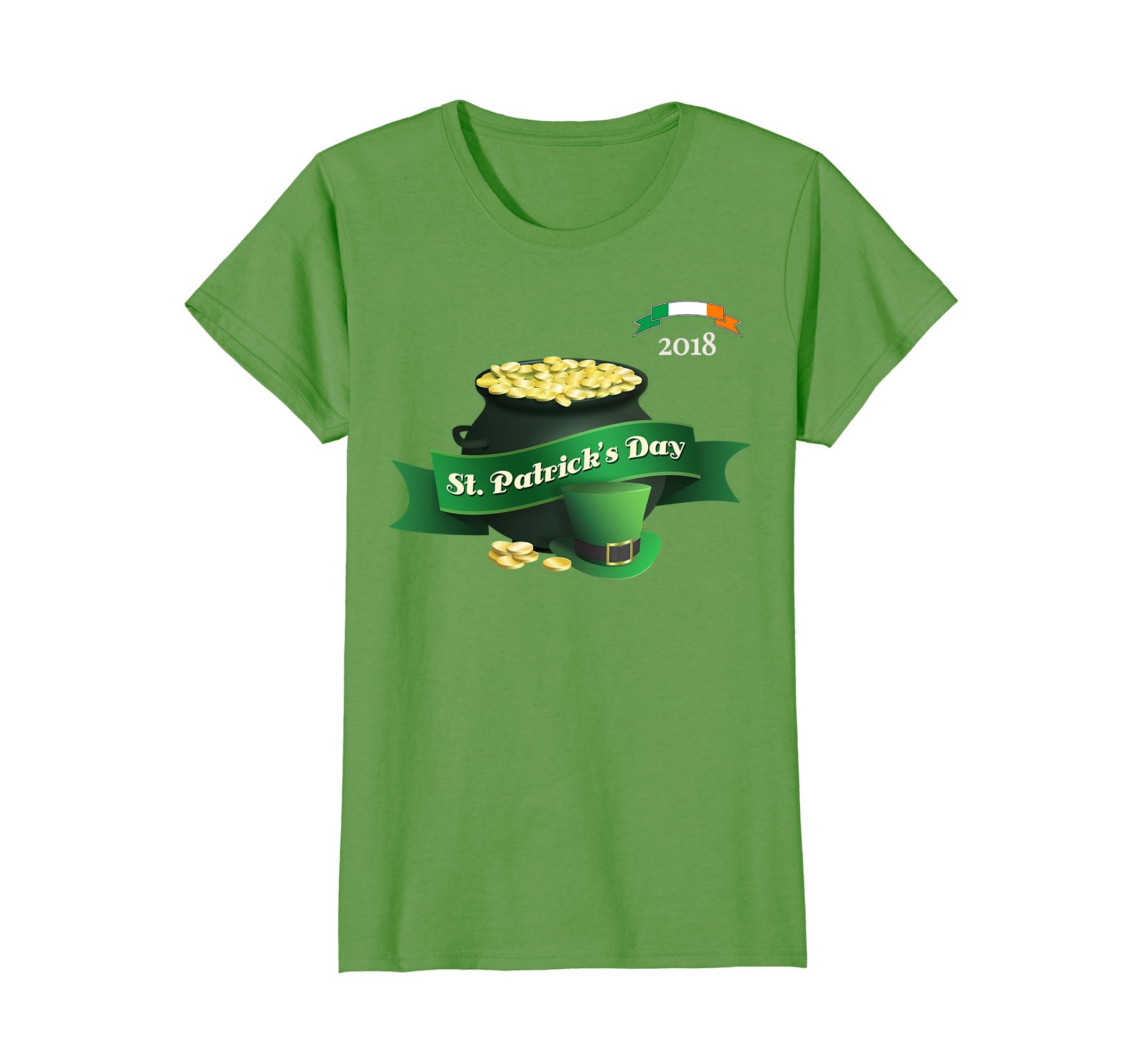 2018 Patricks Gold Shirt Women