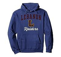 Lebanon High School Raiders Premium T-shirt Hoodie Navy