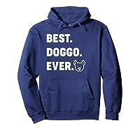 Best Doggo Ever T-shirt Hoodie Navy