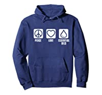 Essential Oil Gifts Shirts Hoodie Navy