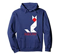 Cat Lover Gifts Premium T-shirt Hoodie Navy