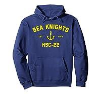 Hsc-22 Sea Knights T-shirt Hoodie Navy