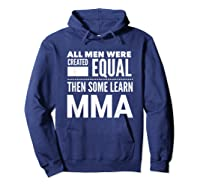 All Learn Mma Mixed Martial Arts Statet Student Gift Shirts Hoodie Navy