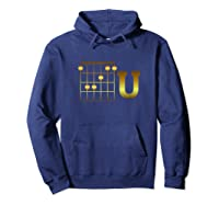 Funny F Chord U Guitarist Player Gift Guitar Lover Shirts Hoodie Navy