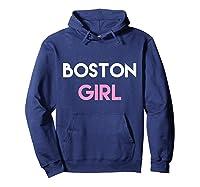 Boston Ma Shirt | Boston Mass Shirt | Boston Girl Tshirt Hoodie Navy