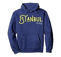 Istanbul Turkey T-shirt Hoodie Navy