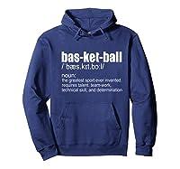 Basketball Definition - Sport Fans Gift Premium T-shirt Hoodie Navy
