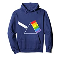 Diceside Of The Moon D20 Dice Set Tabletop Game Shirts Hoodie Navy