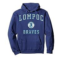 Lompoc High School Braves C1 Shirts Hoodie Navy