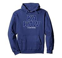 St Louis Arch Football Battle Hawks Apparel Shirts Hoodie Navy