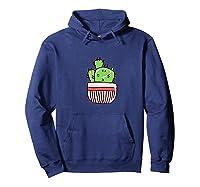 Cactus Shirts Hoodie Navy