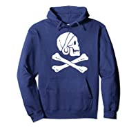 Uncharted Henry Avery Pirate Flag Shirt Hoodie Navy