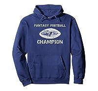 Premium Vintage Graphic Fantasy Football Champion Shirt Hoodie Navy