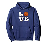 Love Basketball The Only Team Sport For The Best Ones Shirts Hoodie Navy