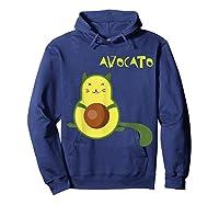 Avocato Funny Cute Cat Gift For Vegan Shirts Hoodie Navy