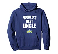 Morehead State Eagles World's Best Uncle - Bold Premium T-shirt Hoodie Navy