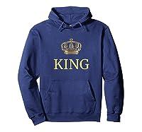 King Gold Crown Birthday Gift Funny Happy Birthday Shirts Hoodie Navy