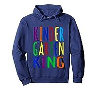 Kindergarten King Back To School Child's Shirts Hoodie Navy