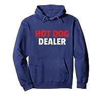 Hot Dog Truck Hot Dog Cart Shirts Hoodie Navy