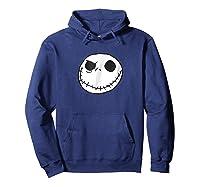 Disney Jack Skellington T-shirt Hoodie Navy