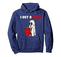 I Got A Rock Halloween Ghost T-shirt Hoodie Navy