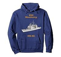 Monterey Cg 61 Navy Sailor Veteran Gift Shirts Hoodie Navy