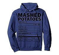 Mashed Potato Nutrition Funny Matching Christmas Costume Shirts Hoodie Navy
