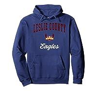 Leslie County High School Eagles Shirts Hoodie Navy