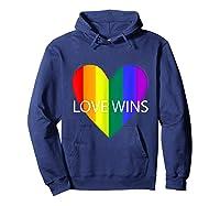 Gay Pride Lesbian Bisexual Transgender Shirts Hoodie Navy