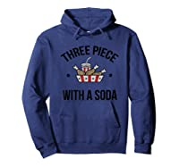 3 Piece And A Soda Shirts Hoodie Navy
