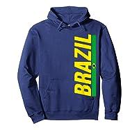 Brazil T-shirt Brazilian Flag Brasil Gift Souvenir Camiseta Hoodie Navy