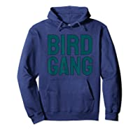 Bird Gang Eagle Sports Tailgate Party Gift Shirts Hoodie Navy