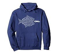 Street Trek Bicycle Fish Eats Car Climate Cycling Shirts Hoodie Navy