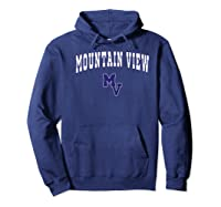 Mountain View High School Thunder Premium T-shirt Hoodie Navy
