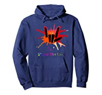 Share Love For And Shirts Hoodie Navy