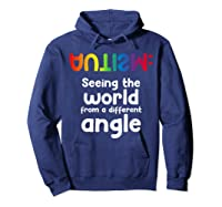 Special Needs Tea Student Gift Autism Awareness Month Shirts Hoodie Navy