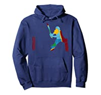 West Indies Cricketer Batsman Wicket Cricket Match Shirts Hoodie Navy