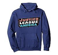 Justice League Logo Jla Classic 01 Shirts Hoodie Navy
