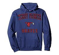 Terry Parker High School Braves T-shirt Hoodie Navy