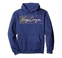 Retro Kings Canyon National Park T-shirt Hoodie Navy